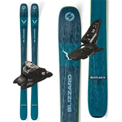 Blizzard Rustler 9 Skis W/Marker Squire Bindings- 2020
