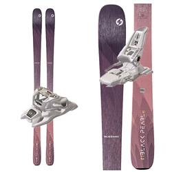 Blizzard Black Pearl 82 Women's Skis - 2020 With Marker Squire Bindings