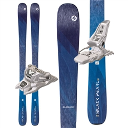 Blizzard Black Pearl 88 Women's Skis - 2020 Package with Marker Squire