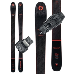 Blizzard Bonafide 97 Skis W/ Warden 13 Bindings 2021