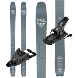Black Crows Ferox Freebird Skis W/ Armada Shift 13MNC Touring Bindings- 2020