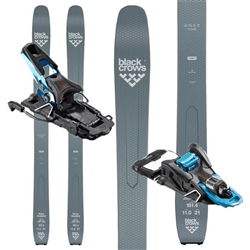 Black Crows Ferox Freebird Skis W/ Salomon Shift 13MNC Touring Bindings- 2020