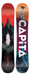 Capita Defenders of Awesome Snowboard 2021 base and top sheet alternate base colors