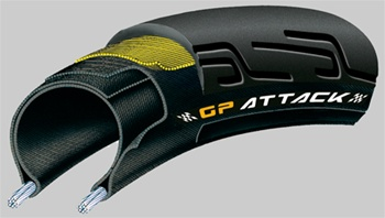 Continental GP Attack & GP Force Foldable bike Tire