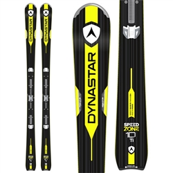 Dynastar Speed Zone 10 TI (KONECT) Skis W/SPX 12 KONECT DUAL WTR Bindings - 2018