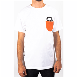 Faction Dictator T-shirt W19 Softgoods Orange - 2019