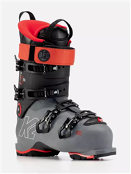 K2 BFC 100 Heat Men's Ski Boots 2021 - Red and Gray Colorway