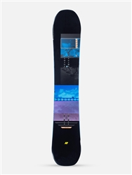 K2 Broadcast Snowboard 2021 Base and Topsheet Graphic