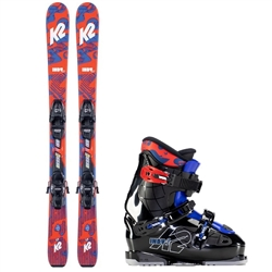 K2 Indy Skis & Indy 1 and 2 Boot Package