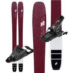 K2 Mindbender Alliance 106C Skis W/ Armada Shift 13MNC Touring Bindings- 2020
