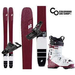 K2 Mindbender Alliance 106C Skis W/ Armada Shift 13MNC Touring Bindings & Mindbender Alliance 90 Boot- 2020