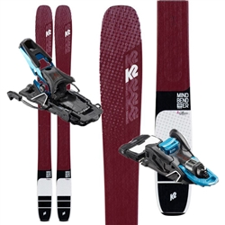 K2 Mindbender Alliance 106C Skis W/ Salomon Shift 13MNC Touring Bindings- 2020