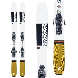 K2 Mindbender Jr. Skis w/ 7.0 FDT Bindings 2021