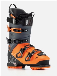 K2 Recon 130 MV Ski Boot 2021 Alternate Angles & Gray Orange Colorway