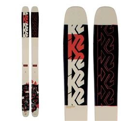 K2 Reckoner 112 Skis 2021 Topsheet & Base