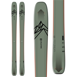 Salomon QST 106 Skis - 2018