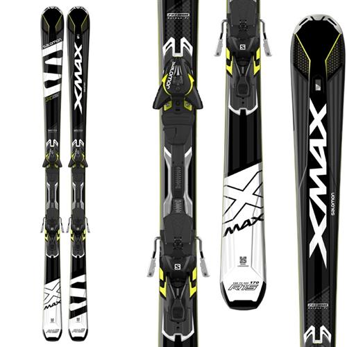 Salomon X-Max X12 Skis W/ X12 Ti Bindings