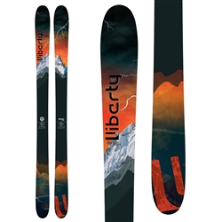 Liberty Origin 96 Skis Topsheet & Base