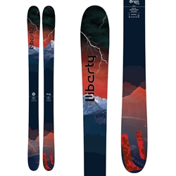 Liberty Origin 106 Skis Topsheet & Base