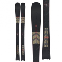 Line Blade Skis 2021 - Topsheet, base, & side profile