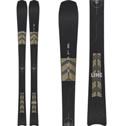 Line Blade W Women's Skis 2021 - Topsheet, base, & side profile
