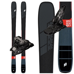 K2 Mindbender 99Ti Skis - 2020 With Marker Griffon bindings