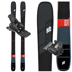 K2 Mindbenders 99 Ti Skis - 2020 With Attack 13 Bindings