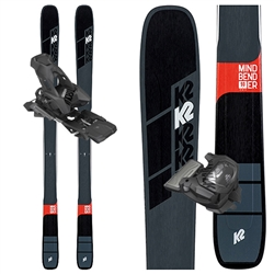 K2 Mindbender 90Ti Skis - 2020 With Attack 13 Bindings