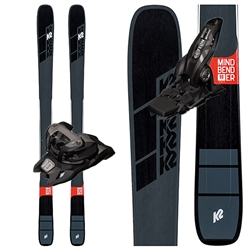 K2 Mindbender 90Ti Skis - 2020 With Marker Griffon Bindings