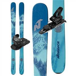 Nordica Santa Ana 88 Skis W/ Salomon Warden 11 Bindings 2021 Package