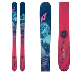 Nordica Santa Ana 93 Skis - 2021 Black and Blue Colorway