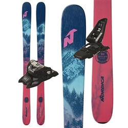 Nordica Santa Ana 93 Skis W/ Marker Squire Bindings 2021