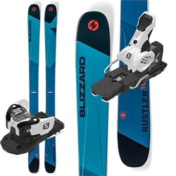 Blizzard Rustler 10 Skis 2019 W/ Salomon Warden 13 MNC Bindings