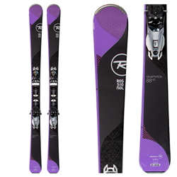 Rossignol Temptation 88 HD Skis w/ Konect NX12 Dual WTR Bindings - 2018