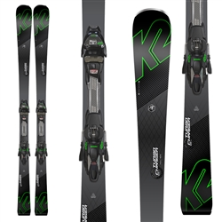 K2 Turbo Charger Skis w/ Marker MXC 12 TCx Light Bindings - 2018