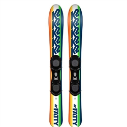 K2 Men's Fatty 1SZ Skis with Binding - 2019
