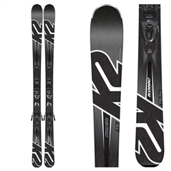 K2 Men's Konic 75 M2 10 Quikclik Skis with Binding - 2019