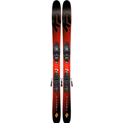 K2 Men's Pinnacle Jr. 7.0 FDT Skis with Binding - 2019