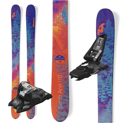 Nordica Santa Ana 110 Skis - 2019 W/ Black Squire Bindings
