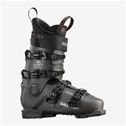 Salomon Shift Pro 120 AT Ski Boot Belluga, Black, Silver Colorway