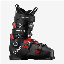 Salomon S Pro HV 90 IC Ski Boot - 2021 Black, Red, White colorway