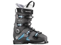 Salomon S/Pro 90R Women's Ski Boot 2021 Black/Blue Colorway