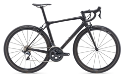 Giant TCR Advanced Pro 1 Bike - Carbon / Chrome - 2020