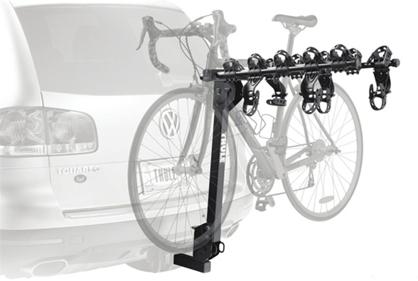 thule 915 xt roadway bike carrier hitch rack. Black Bedroom Furniture Sets. Home Design Ideas
