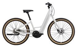 Momentum Vida E+ Step Through Bike - 2020 - Pearl White