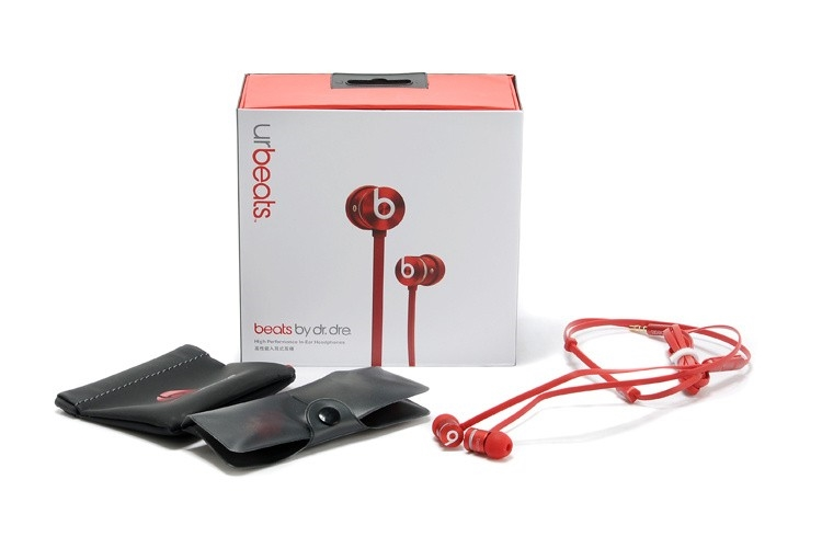 Red Beats By Dre urBeats In-Ear Headphones 99ebd643fdb3