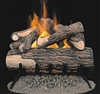 Comfort Flame Vented Gas Log Set Amherst Oak