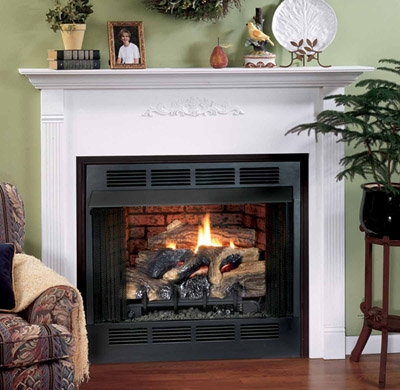 Comfort Flame Vent Free Gas Firebox
