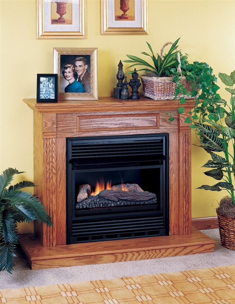 Comfort Flame Vent Free Gas Fireplace Single Compact