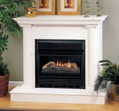 Fireplaceinsert.com, Comfort Flame Vent Free Gas Fireplace Single ...